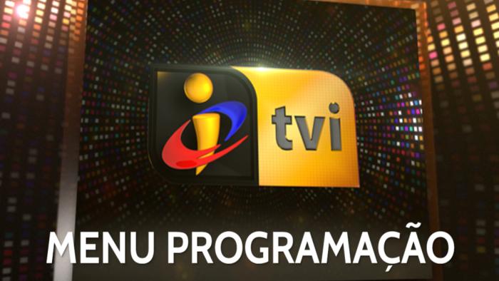 Menu Programação TVI 2017