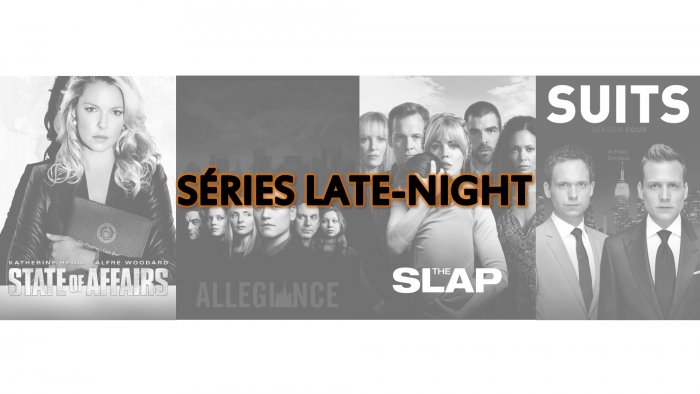 Séries Late-Night 2018