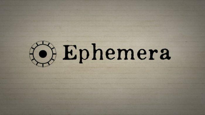 EPHEMERA 2019