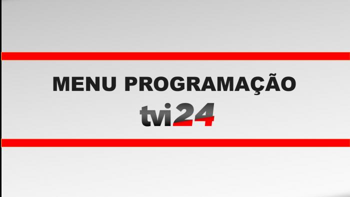 Menu Programação TVI24