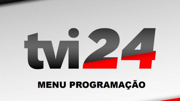 Menu Programação TVI24 2019