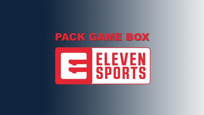 PACK GAME BOX CANAIS ELEVEN SPORTS
